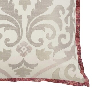 Waverly Fresco Flourish Embroidered Decorative Accessory Pillow