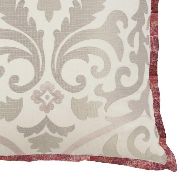 Waverly Fresco Flourish Embroidered Decorative Accessory Pillow