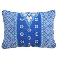 Waverly Moonlit Shadows Embroidered and Pieced Decorative Accessory Pillow