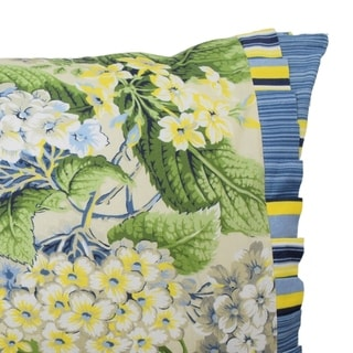 Waverly Floral Flourish 14x22 Decorative Pillow