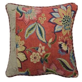 Waverly Brighton Blossom Pieced Pillow