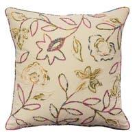 Waverly Key of Life Manipulated Fabric Pillow