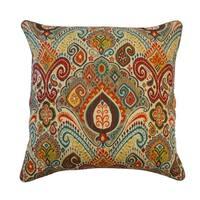 Waverly Boho Passage Damask Pillow
