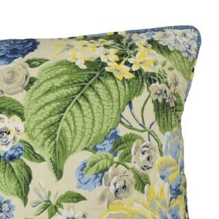 Waverly Floral Flourish 20x20 Decorative Pillow