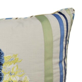 Waverly Floral Flourish 14x20 Decorative Pillow