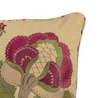 Waverly Imperial Dress Antique 20x20 Decorative Pillow