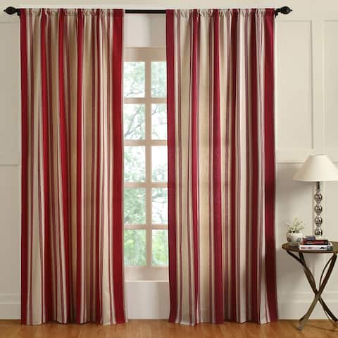 Cottage Home Canon Cotton 96-inch Curtain Panel