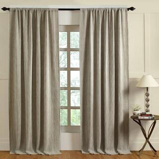 Cottage Home Preston Ivory Linen Curtain Panel