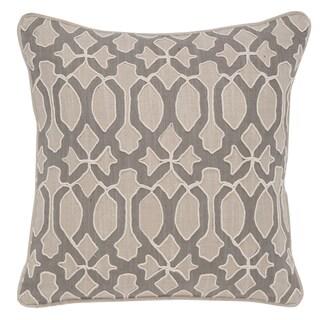 Leighton Cotton 18-inch Square Throw Pillow