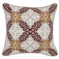 Kosas Home Marseille Cotton 18-inch Throw Pillow