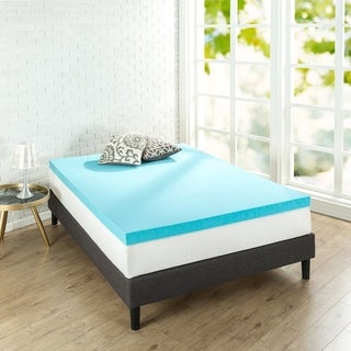 "Priage 3"" Gel Memory Foam Mattress Topper"