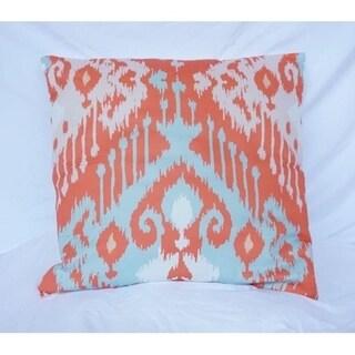 Candelabra - Rust - Cotton Throw Pillow