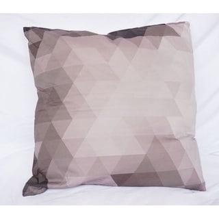 Pixelated - Alloy - Cotton Throw Pillow