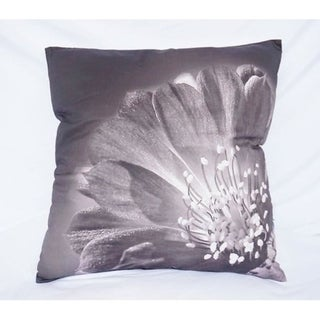 Blooming Flower - Alloy - Cotton Throw Pillow