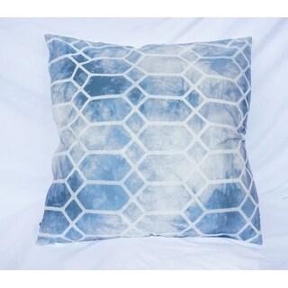 Prism - Blue - Cotton Throw Pillow