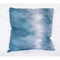 Sound Wave - Nightfall Navy - Cotton Throw Pillow
