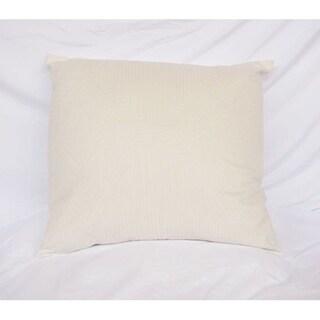 Mirror Image - Jet Stream - Cotton Throw Pillow