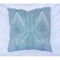 Mirror Image - Jasper - Cotton Throw Pillow