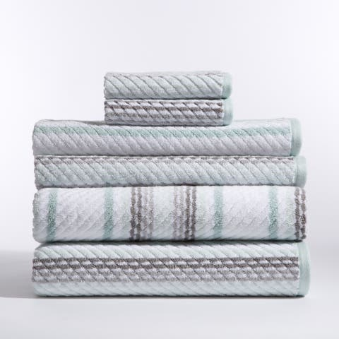 Carlyle Mineral 6 Piece Towel Set - N/A
