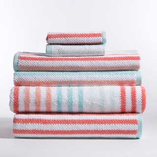 Jay Stripe 6-Piece Towel Set