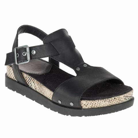 CAT by Caterpillar Womens Tiki Sandal Black