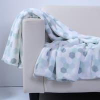 Berkshire Blanket Honeycomb Printed PrimaLush Throw