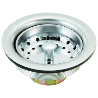 "Builders Shoppe 6110 4.5"" Stainless Steel Kitchen Sink Strainer"