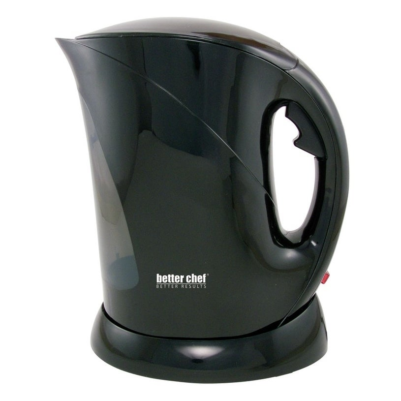 Better Chef 1.7-liter Cordless Electric Kettle (Black)