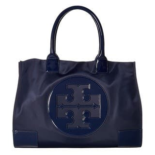 Tory Burch Nylon Ella French Navy Tote Bag|https://ak1.ostkcdn.com/images/products/17977728/P24152448.jpg?impolicy=medium