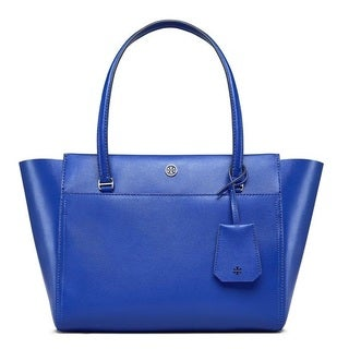Tory Burch Parker Songbird / Royal Navy Small Tote Bag