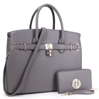 32457843ecf Buy Grey Shoulder Bags Online at Overstock.com   Our Best Shop By ...