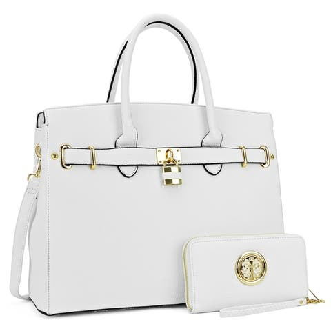 4688490b3d9d Buy White Satchels Online at Overstock | Our Best Shop By Style Deals