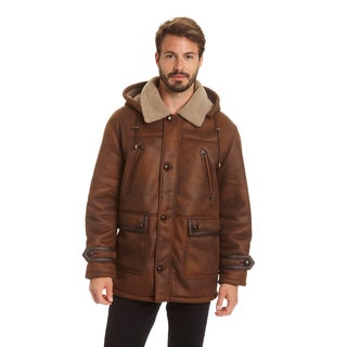 Excelled Men's Big and Tall Faux Shearling Hooded Jacket|https://ak1.ostkcdn.com/images/products/17977744/P24152465.jpg?_ostk_perf_=percv&impolicy=medium