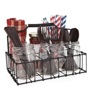 Country Home Patio Silverware Caddy by Twine