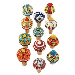 Country Cottage Assorted Ceramic Stoppers by Twine