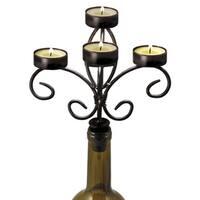 Boulevard: Wine Bottle Candelabra
