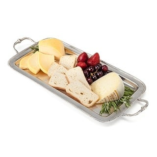 Chateau Pewter Serving Tray by Twine