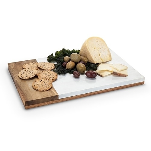 Country Cottage: Marble & Wood Cheese Board, Multi