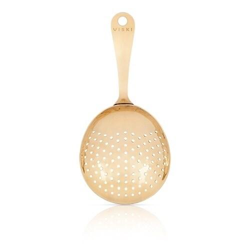 Belmont™ Gold Julep Strainer by Viski, Multi (Stainless S...