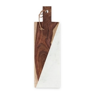 Admiral™ Marble and Indian Rosewood Cheese Board by Viski