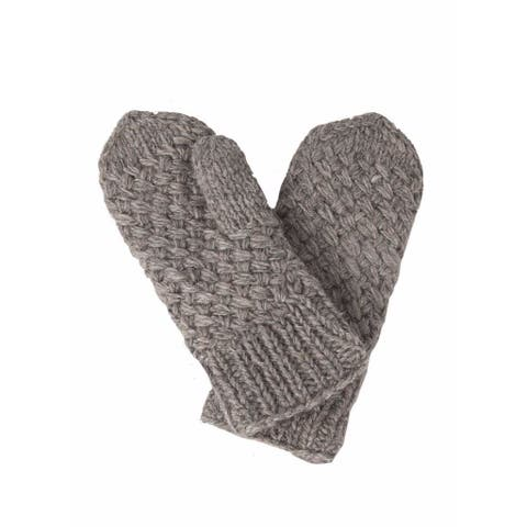 Laundromat Palermo Grey Fashion Mittens