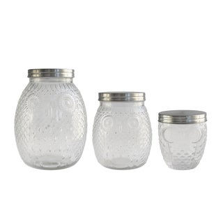 Owl Canisters (Set of 3)