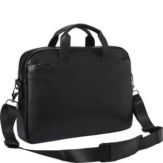 Kenneth Cole Reaction Pebbled Faux Leather Top Zip 15.6-inch Laptop Briefcase