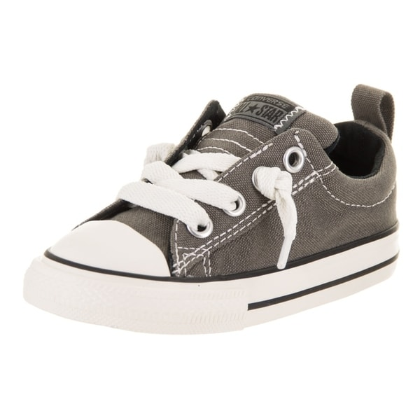 Chuck Taylor All Star Ox Boys Kids in Charcoal by Converse