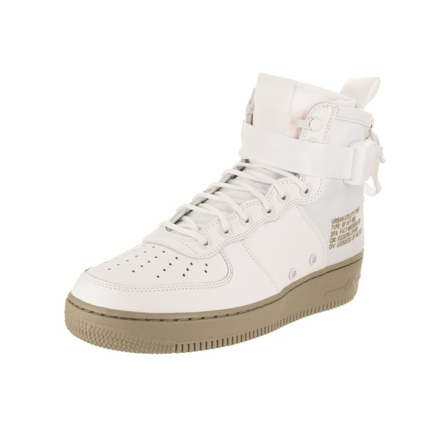online store 18e8f 398fa Nike Men  x27 s SF AF1 Mid Basketball Shoe