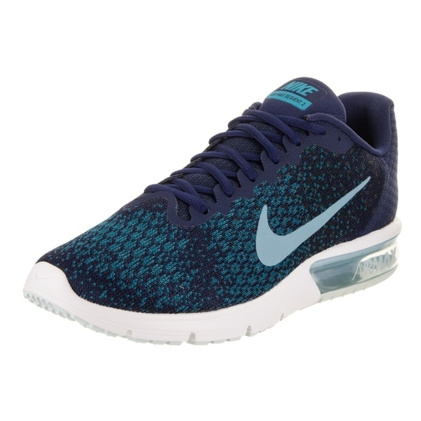 buy popular 79173 840af Shop Nike Men's Air Max Sequent 2 Running Shoe - Free Shipping Today ...