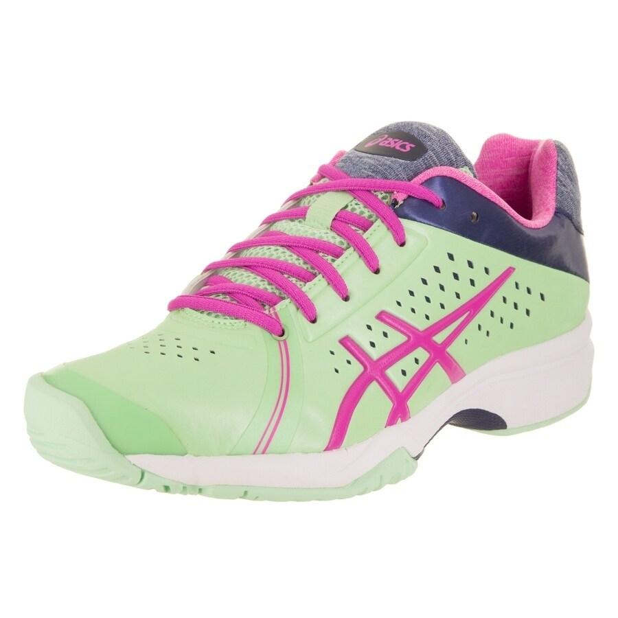 Asics Women's Gel-Court Bella Tennis Shoe (6), Green (Syn...
