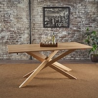 Galton Mid-Century Modern Wood Dining Table by Christopher Knight Home