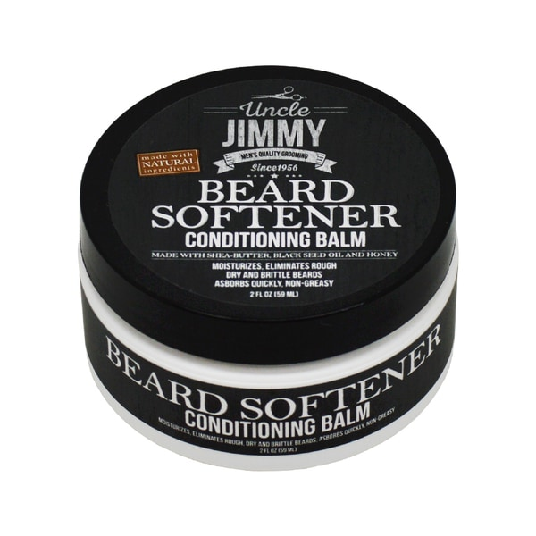 Image result for uncle jimmy beard oil and softener