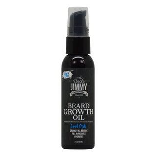 Uncle Jimmy 2-ounce Beard Growth Oil